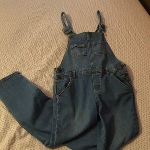 Girls overalls ankle length
